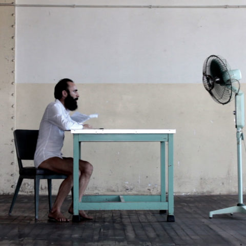 Negatio, Miguel Andrés, video performance, 2015